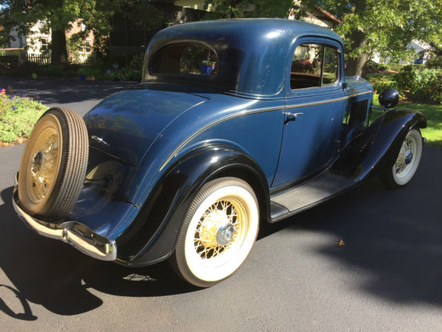 1933 Plymouth Coupe For Sale Craigslist >> 1933 Chevrolet Standard Mercury Series 3 Window Coupe