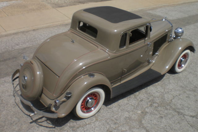 1933 dodge rumble seat coupe matching numbers survivor for 1933 dodge 5 window coupe