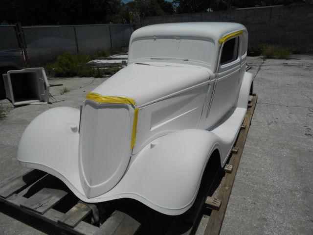 1933 Ford Vicky Hot Rod Rat Rod Project Fiberglass Body