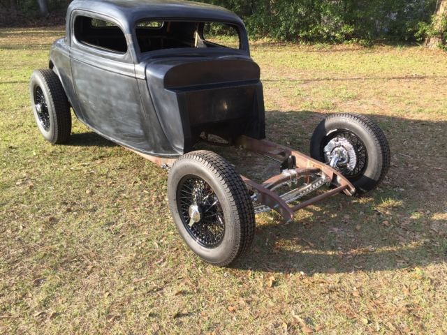 1934 ford 3 window coupe chopped hot rod rat rod project for 1934 ford 3 window