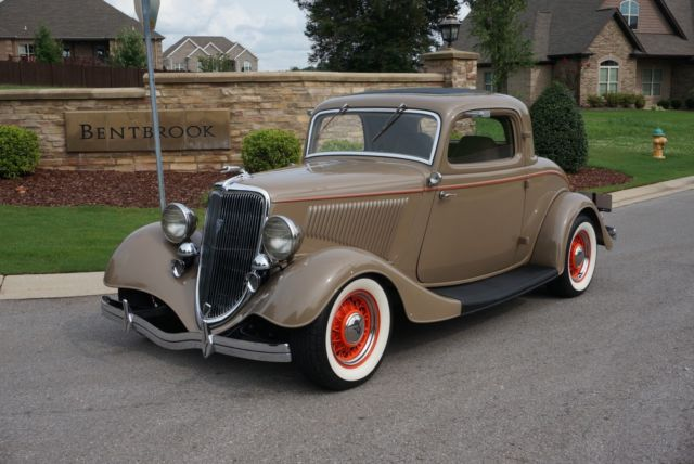 1934 ford 3 window deluxe coupe all henry ford steel for 1934 ford 3 window