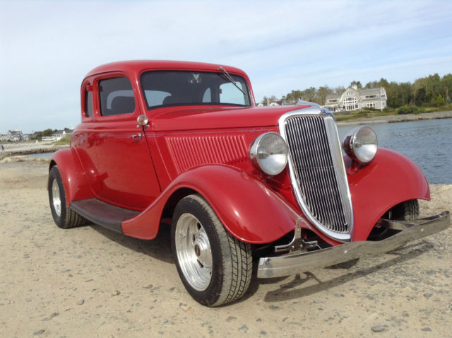 1934 ford 5 window coupe street rod all steel for 1934 5 window ford coupe