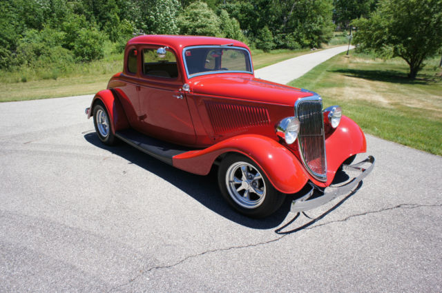 1934 ford 5 window hot rod real deal original steel frame for 1934 ford five window coupe for sale