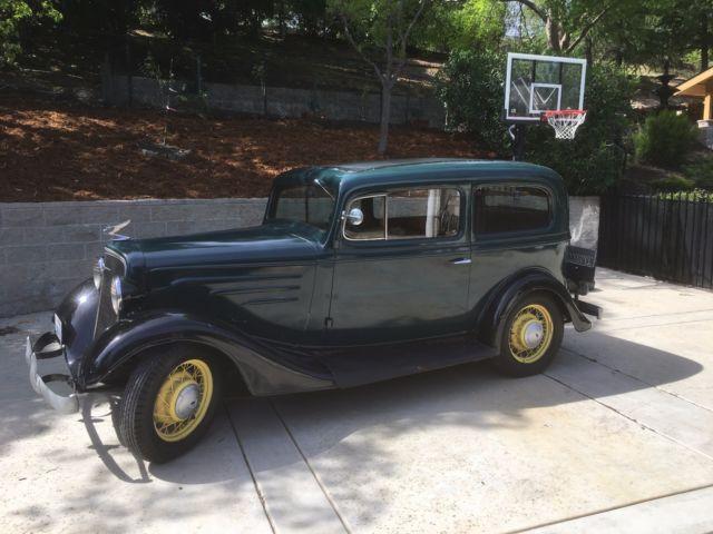 1935 chevrolet 5 window 2 door standard sedan all original for 1935 chevy 2 door sedan