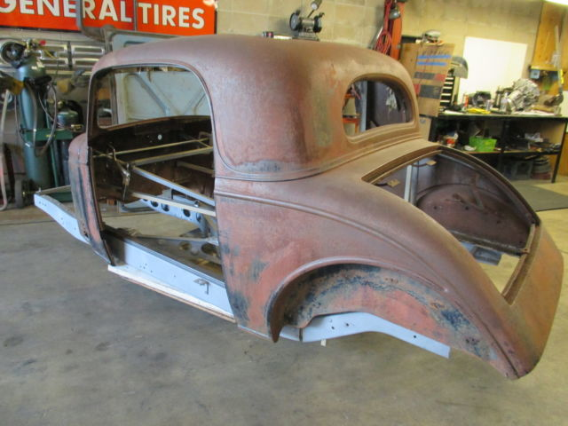 1935 chevy 3 window coupe master standard rat hot street rod project model a 3. Black Bedroom Furniture Sets. Home Design Ideas