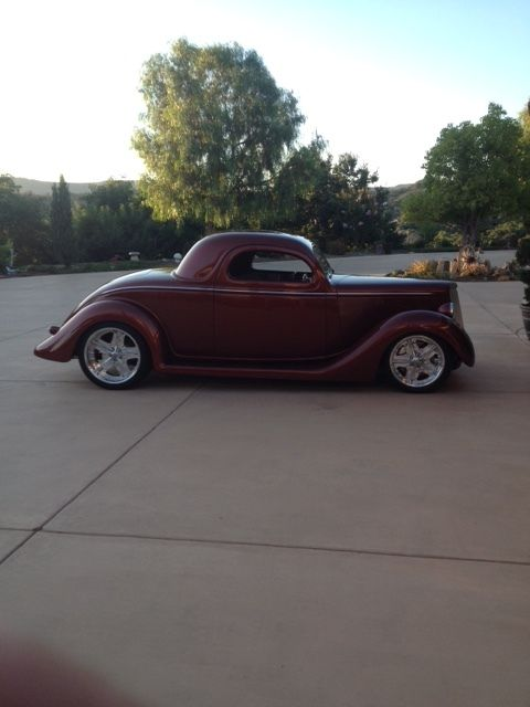 1935 ford all steel 3 window coupe for 1935 ford three window coupe