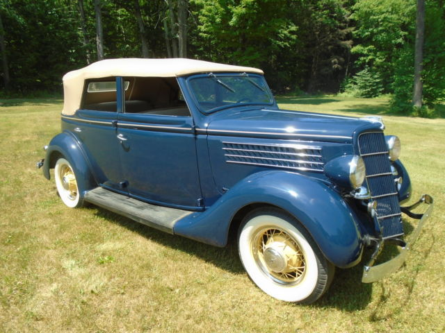 1935 ford convertible sedan 15 year restoration of a barn for 1935 ford 4 door sedan