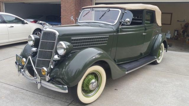 1935 ford model 48 4 door convertible sedan for 1935 ford 4 door sedan