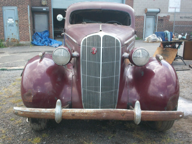 1936 buick 4 door sedan 21 890 miles for 1936 buick 4 door sedan