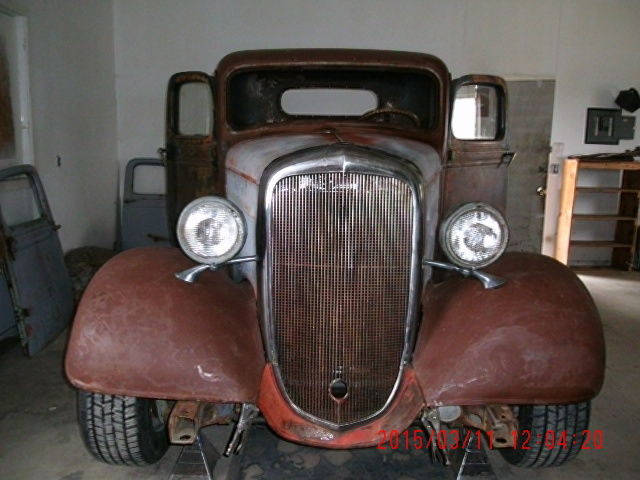 1936 Chevy Pickup Streetrod Project