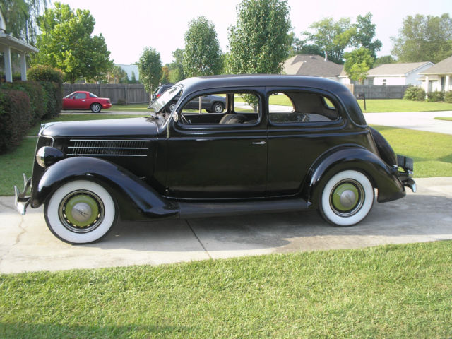 1936 ford 2 door sedan tudor model 68 slant back for 1936 ford 2 door sedan