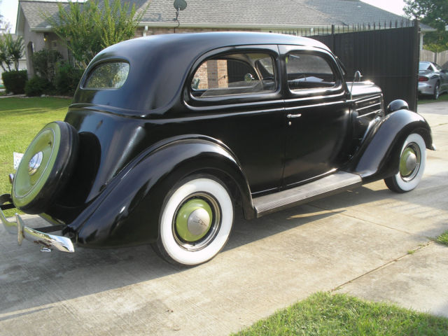 1936 ford 2 door sedan tudor model 68 slant back