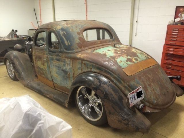 1936 Ford 5 Window Coupe Hot Rod Rat Rod