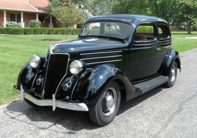 1936 ford tudor sedan 2 door v8 slantback for 1936 ford 2 door slant back