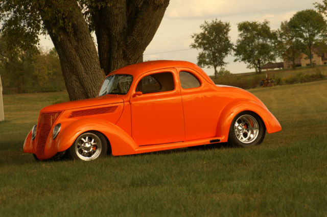 Ford Award Winning Five Window Steel Coupe Street Rod on 1937 Ford Vin Number Location