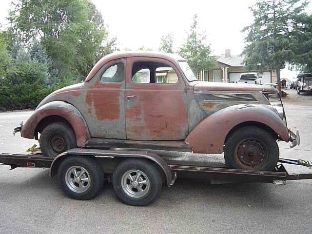 1937 Ford Business Coupe Project Or Rat Rod