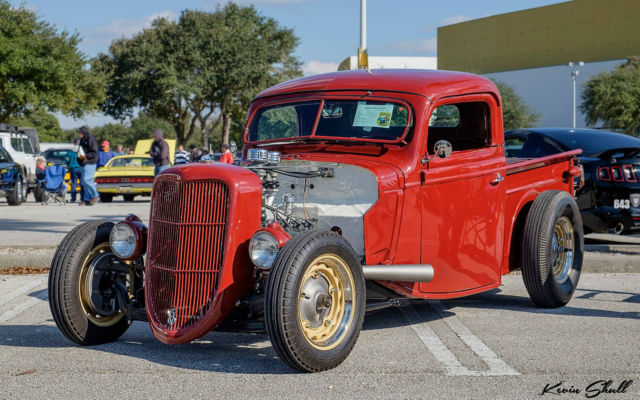 1937 Ford Flathead V8 Truck Hot Rod Roadster 1932 1934