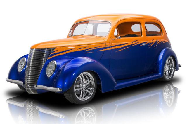 1937 Ford Sedan 581 Miles Majik Blue Pearl Sedan 350 LT1 4