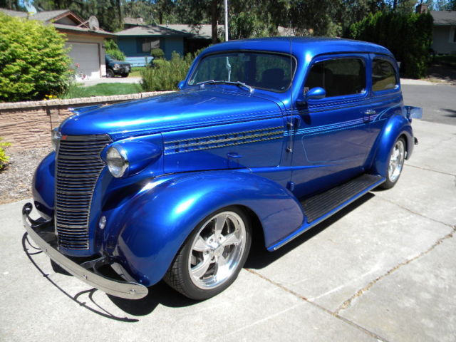 1938 chevrolet two door sedan street rod custom for 1938 chevy 4 door