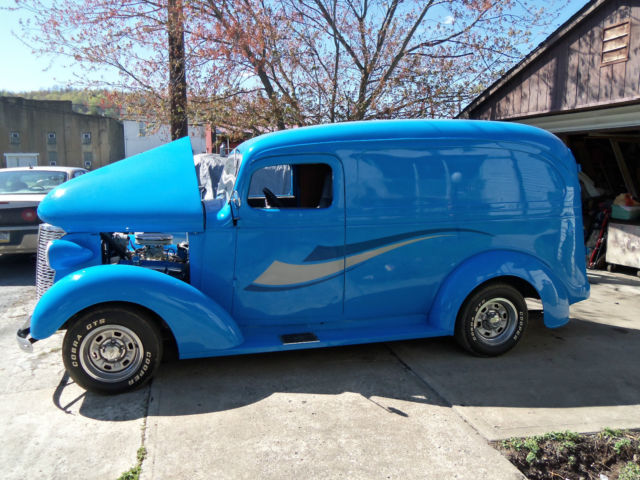 1938 Chevy Panel Truck Hot Rod Street Rod Custom Delivery