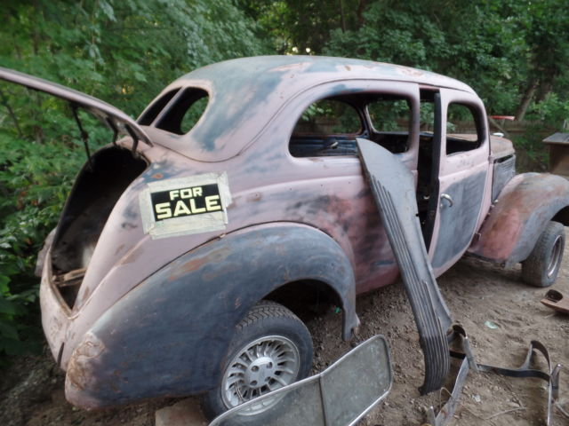 1938 ford 2 door sedan original titled hot rod rat rod for 1938 ford 4 door sedan