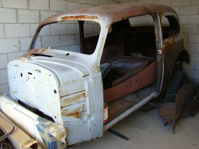 1939 Chevy 2 Door Sedan Master Deluxe