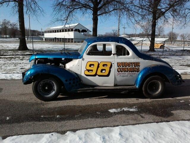 1939 Ford Coupe Stock Car Racer Vintage Antique Race Rat