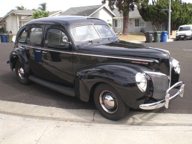 1940 ford lincoln mercury 4 door sedan for 1940 ford 4 door sedan