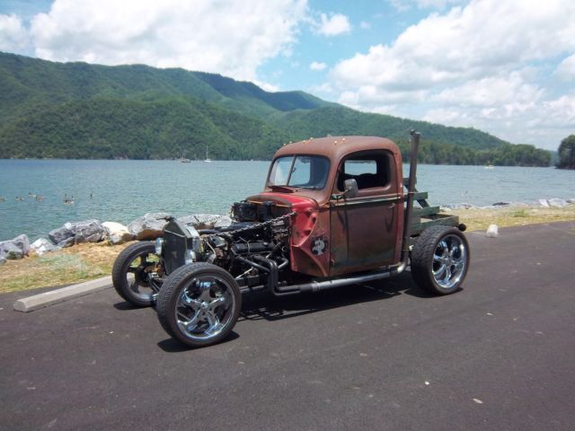350 Small Block Chevy Engine For Sale 1940 Ford truck pickup Rat rod hotrod 40 Nice ride and Drive