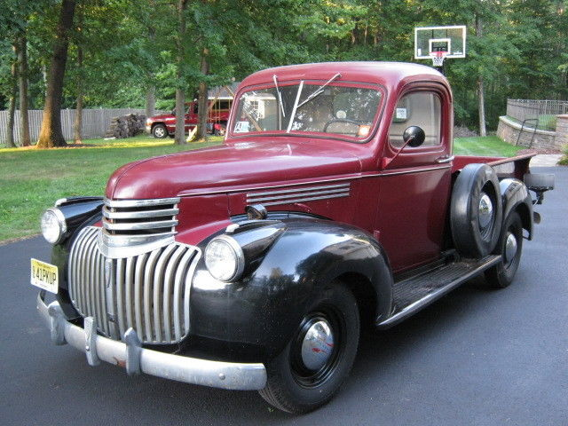 1941 chevy pickup 1 2 ton light duty barn find excellent. Black Bedroom Furniture Sets. Home Design Ideas