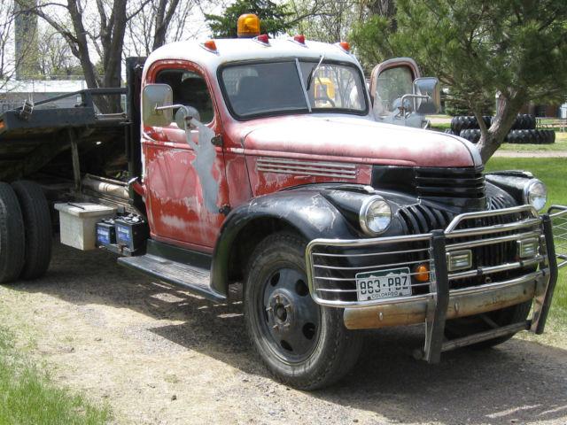 1941 Chevy Truck Upgraded 2 1 2 Ton Car Hauler Roll Back Loader