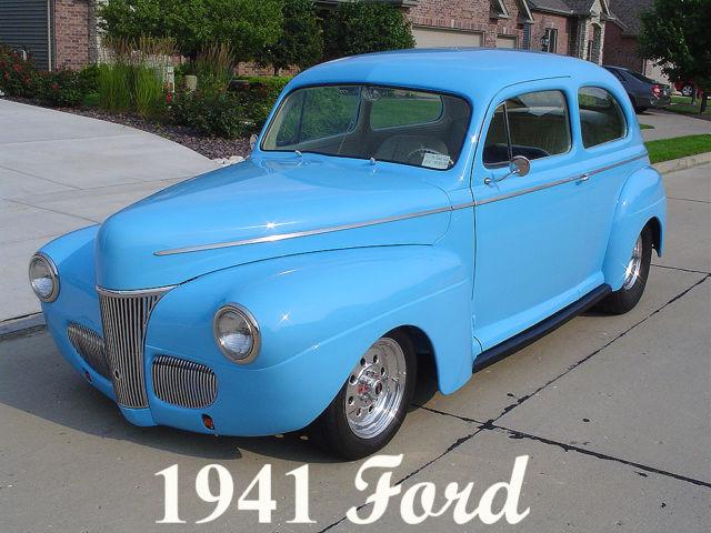 1941 ford 2 door sedan pro street street rod frame off for 1941 ford 2 door sedan