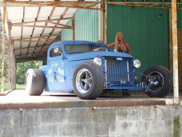 1941 Gmc Rat Rod Hot Rod Chopped Pickup
