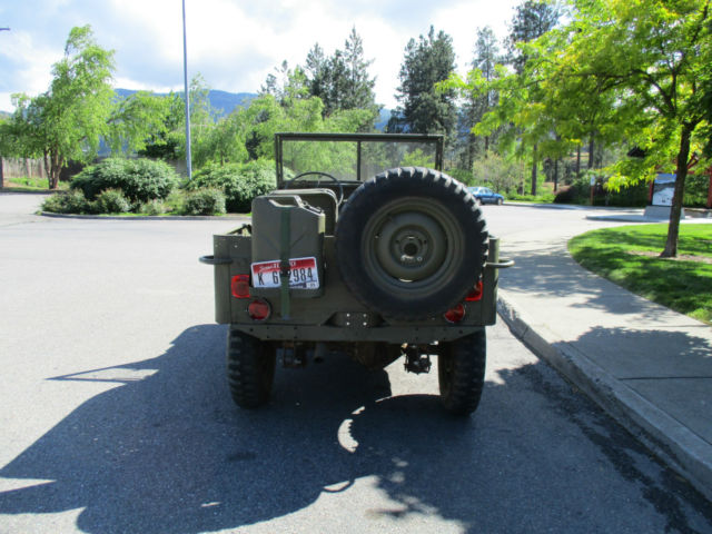1943 Willys Mb Jeep Flat Fender