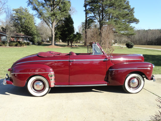 1946 ford super deluxe convertible. Black Bedroom Furniture Sets. Home Design Ideas