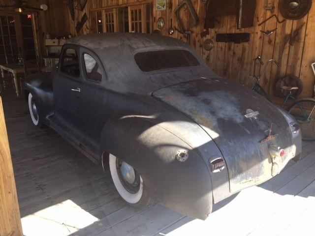 1946 Plymouth 5 Window Business Coupe Project Or Rat Rod