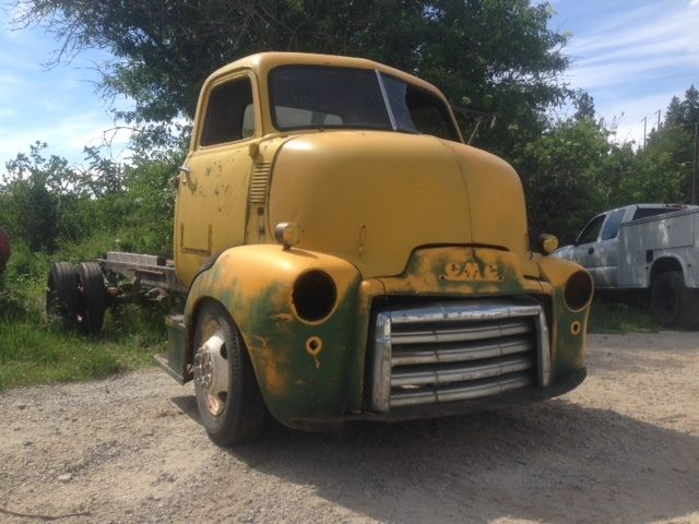 1947 1948 1949 1950 GMC COE Cabover Truck Cab Hot Rod ...