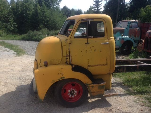 1947 1948 1949 1950 Gmc Coe Cabover Truck Cab Hot Rod