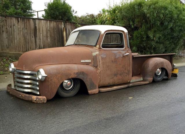 1947 Chevrolet Pickup 3100 Short Bed Bagged 1948 1950 1951