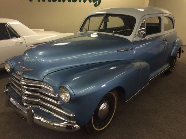 1947 chevrolet stylemaster 2 door sedan no reserve auction for 1947 chevy 2 door coupe