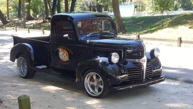 1947 dodge pick up truck restomod street rod. Black Bedroom Furniture Sets. Home Design Ideas