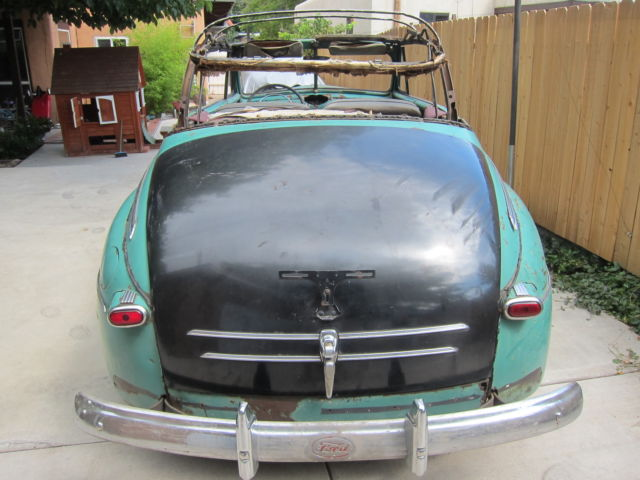 1947 Ford Convertible With Extra Parts 1946 1948 1932 1934