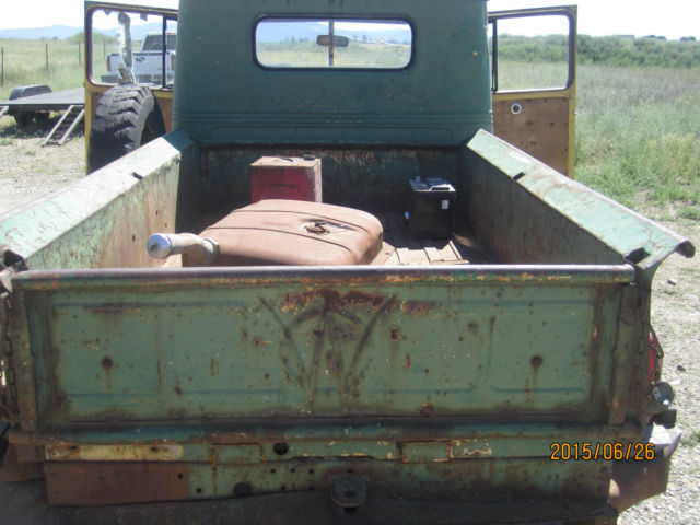 1947 Willys Pickup Truck Jeep Mb Ford 1941 1942 1943 1944