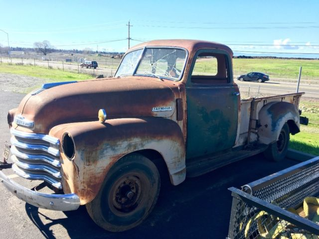 1948 chevrolet chevy 3600 pickup truck 5 window patina for 1948 5 window chevy truck sale