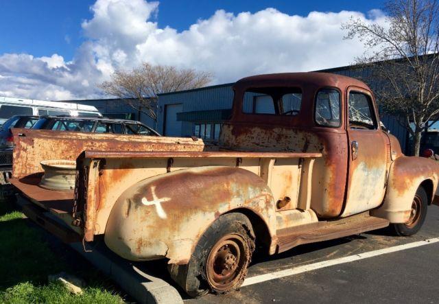 Partschevrolet truck3600 vintage