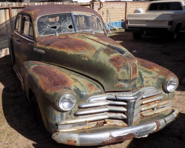1948 chevrolet fleetline 4 door 48 chevy for 1948 chevy fleetline 4 door