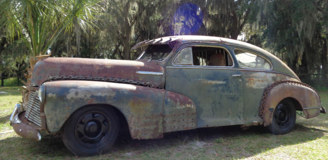 1948 Chevy Fleetline Aero Coupe Rat Rod  99 S10 4cyl 5spd
