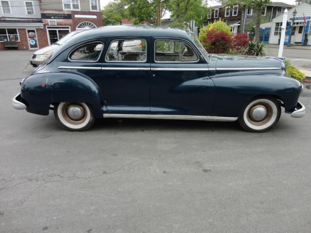 1948 dodge deluxe sedan fluid drive 3 speed transmission for 1948 dodge deluxe 4 door