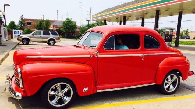 1948 ford 2 door coupe streetrod hot rod low reserve for 1948 ford 2 door coupe