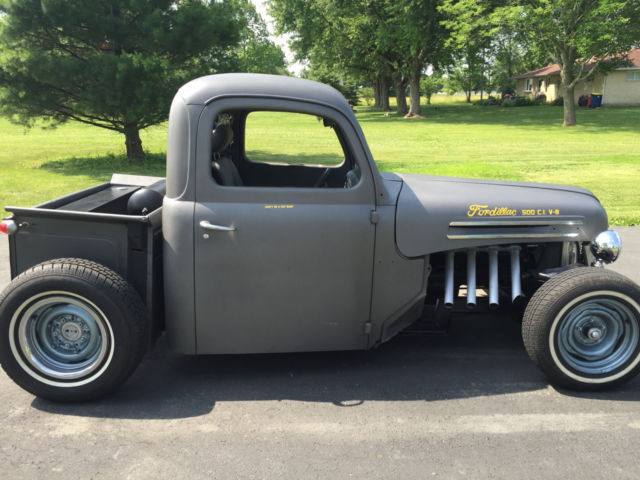 1948 ford f 1 v8 2 door all steel pickup hot rod rat rod. Black Bedroom Furniture Sets. Home Design Ideas